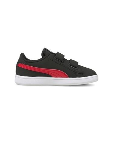 Puma Puma Smash V2 Buck Çocuk Ayakkabı 36518326 36518326001 Siyah